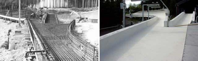 Historische Bilder Bobbahn Altenberg 5