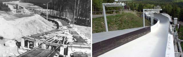 Historische Bilder Bobbahn Altenberg 4