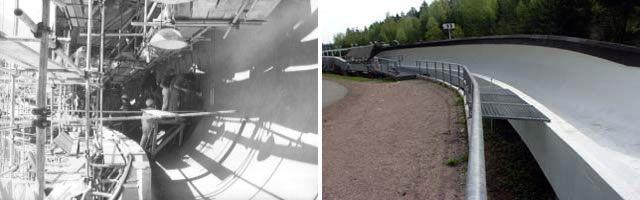 Historische Bilder Bobbahn Altenberg 3
