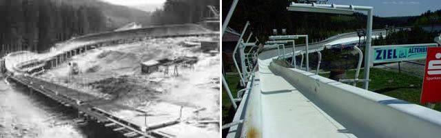 Historische Bilder Bobbahn Altenberg 1 1