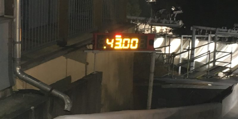 Bild Bahnrekord