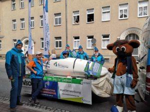 Die WM zu Gast beim Tag der Sachsen in Riesa